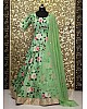 alia bhatt pistagreen tapeta silk digital floral printed long anarkali suit