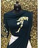 Designer white tapeta silk embroidered ceremonial lehenga