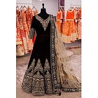 Designer heavy embroidered  dark coffee wedding suit