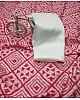 Pink vichitra silk digital printed saree