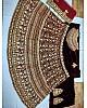 designer Maroon heavy embroidered Bridal lehenga