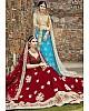 maroon velvet silk heavy embroidered bridal lehenga