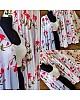White soft silk digital printed lehenga choli for ceremony