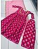 Pink plazzo suit