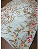 sky blue tapeta silk embroidered bollywood style lehenga