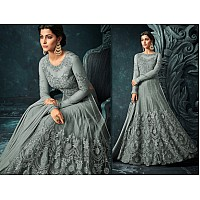 Designer embroidered long wedding anarkali suit