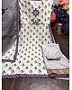 white printed crep bollywood plazzo salwar suit