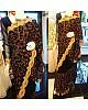 Designer georgette heavy multicolor threadwork wedding saree