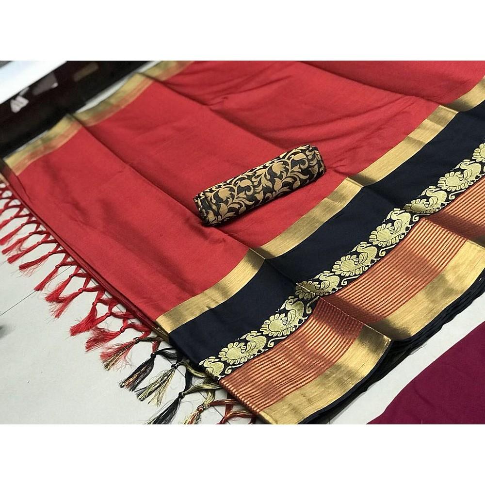Beautiful cotton silk multicolor sarees