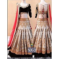 Beautiful look wedding embroidered lehenga