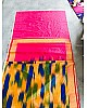Beautiful Multicolor Printed Festival Saree
