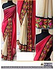 Beautiful Pink embroidered Ceremonial Saree