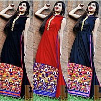 Beautiful Red & Black Navratri special lehenga choli