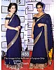 Bollywood style gorgeous blue partywear saree