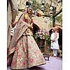 Bollywood style heavy work bridal lehenga