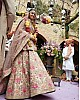 Bollywood style heavy work bridal lehenga