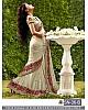 Designer embroidered festiv saree