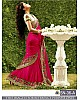 Designer embroidered festiv saree