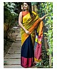 Fabulous Multicolor printed Festival Saree