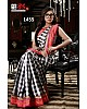 Gorgeous Black Printed Party wear Saree