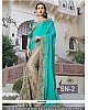 Gorgeous heavy embroidered wedding saree