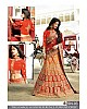 Heavy embroidered yellow and orange bridal wedding lehenga