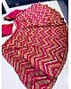 Pink tapeta silk sequence and zari work lehenga choli