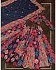 Blue vaishali silk digital printed traditional lehenga choli