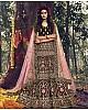 Maroon pure velvet soft net stone work bridal lehenga choli