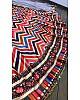 Multicolor print banarasi satin silk wedding lehenga choli