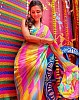 Multicolour organza with mulberry digital printed saree
