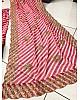 Pink natural crepe silk sequence digital printed lehenga choli