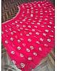 Pink soft net sequence work wedding lehenga choli