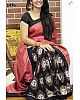 Stylist Black Printed Party wear Saree