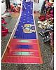 Stylist Blue Printed Ceremonial Saree