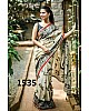 Stylist Cream Printed Any Festival Saree