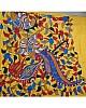 Stylist Yellow Printed Festival Saree